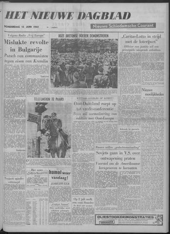 Nieuwe Schiedamsche Courant 1961-06-15
