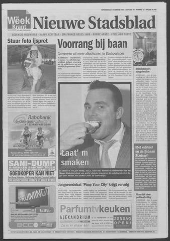 Het Nieuwe Stadsblad 2007-12-27