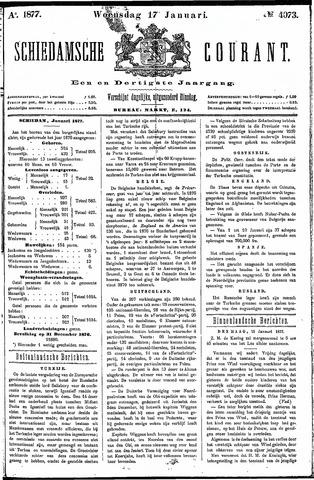 Schiedamsche Courant 1877-01-17