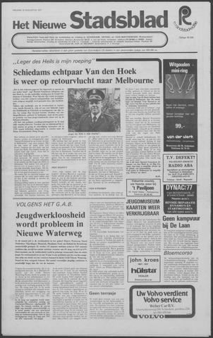 Het Nieuwe Stadsblad 1977-08-12