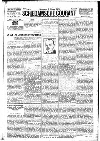 Schiedamsche Courant 1929-10-03