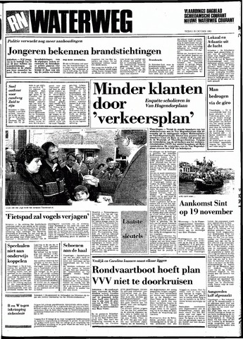 Rotterdamsch Nieuwsblad / Schiedamsche Courant / Rotterdams Dagblad / Waterweg / Algemeen Dagblad 1983-10-28