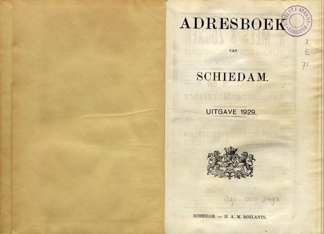Adresboeken 1929-01-01