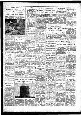 Rotterdamsch Parool / De Schiedammer 1955-04-05