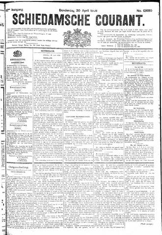 Schiedamsche Courant 1908-04-30