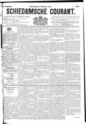 Schiedamsche Courant 1908-02-06