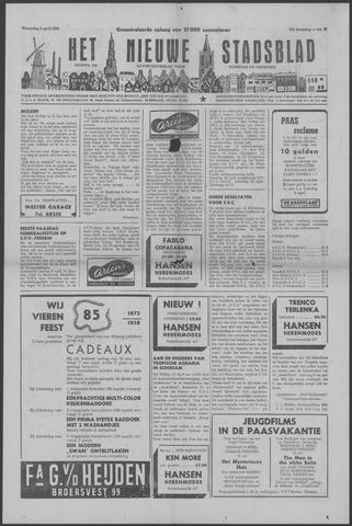 Het Nieuwe Stadsblad 1958-04-02