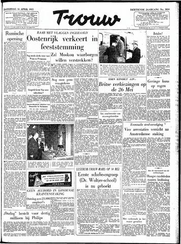 Trouw / De Rotterdammer 1955-04-16