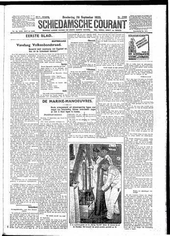 Schiedamsche Courant 1935-09-26