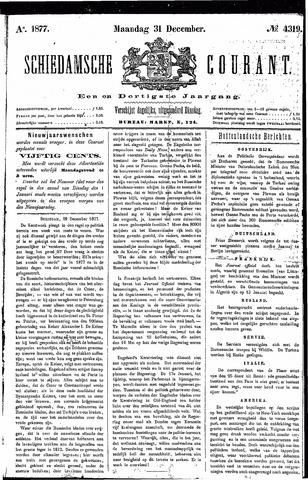 Schiedamsche Courant 1877-12-31