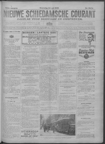 Nieuwe Schiedamsche Courant 1929-07-24