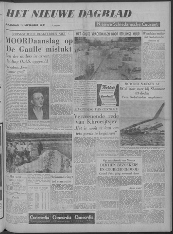 Nieuwe Schiedamsche Courant 1961-09-11