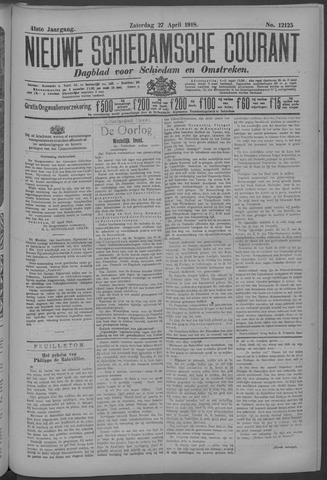 Nieuwe Schiedamsche Courant 1918-04-27