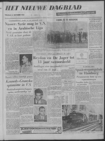 Nieuwe Schiedamsche Courant 1961-10-06