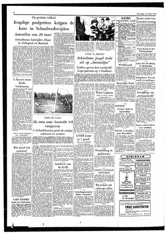Rotterdamsch Parool / De Schiedammer 1955-04-13