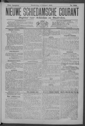 Nieuwe Schiedamsche Courant 1909-02-04