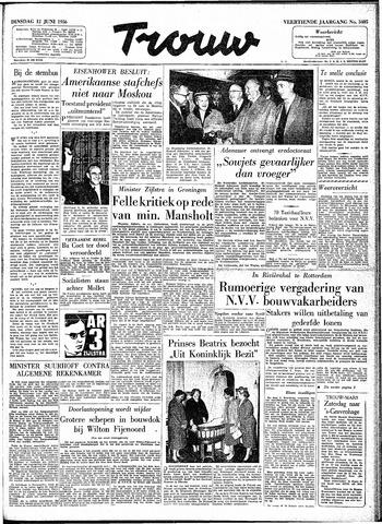 Trouw / De Rotterdammer 1956-06-12