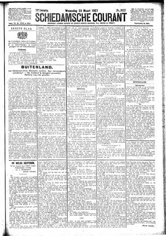 Schiedamsche Courant 1927-03-23
