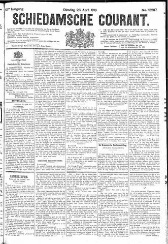 Schiedamsche Courant 1910-04-26
