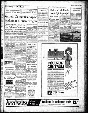 Rotterdamsch Parool / De Schiedammer 1963-11-18