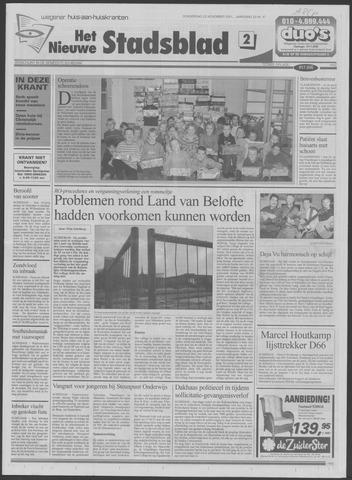 Het Nieuwe Stadsblad 2001-11-22