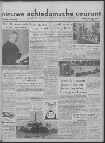 Nieuwe Schiedamsche Courant 1958-06-25