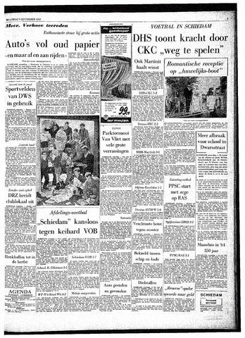 Rotterdamsch Parool / De Schiedammer 1963-09-09