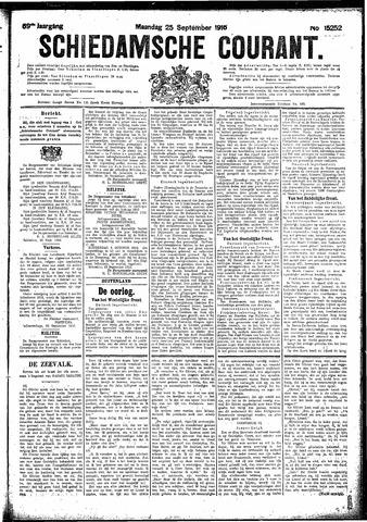 Schiedamsche Courant 1916-09-25