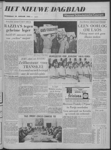 Nieuwe Schiedamsche Courant 1962-01-24