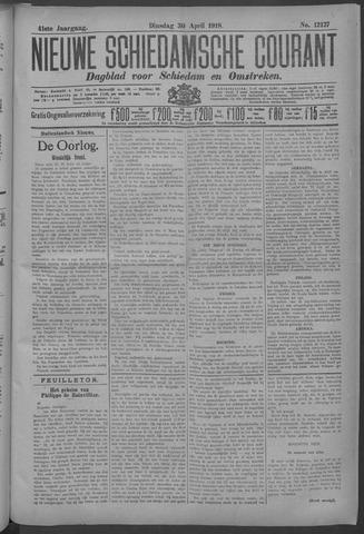 Nieuwe Schiedamsche Courant 1918-04-30