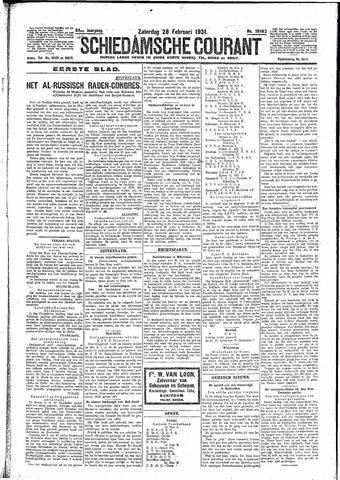 Schiedamsche Courant 1931-02-28