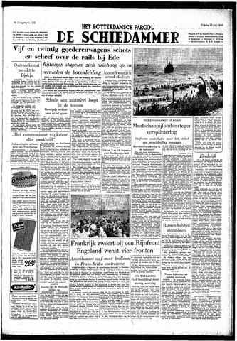 Rotterdamsch Parool / De Schiedammer 1949-07-29