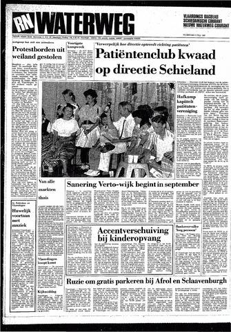 Rotterdamsch Nieuwsblad / Schiedamsche Courant / Rotterdams Dagblad / Waterweg / Algemeen Dagblad 1987-07-08
