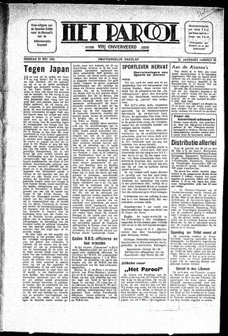 Rotterdamsch Parool / De Schiedammer 1945-05-22