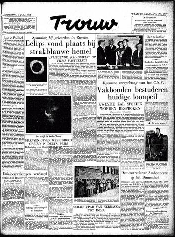 Trouw / De Rotterdammer 1954-07-01
