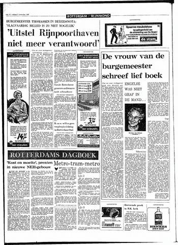 Rotterdamsch Parool / De Schiedammer 1968-11-08