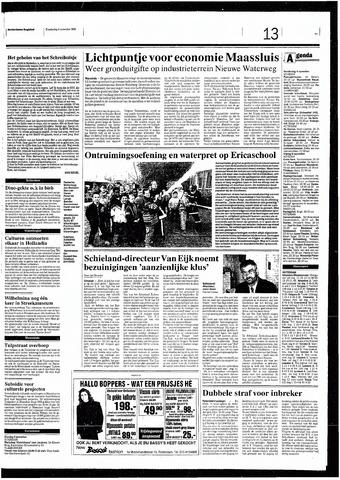 Rotterdamsch Nieuwsblad / Schiedamsche Courant / Rotterdams Dagblad / Waterweg / Algemeen Dagblad 1993-11-04