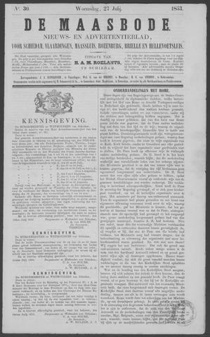 De Maasbode 1853-07-27