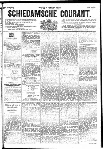 Schiedamsche Courant 1908-02-07