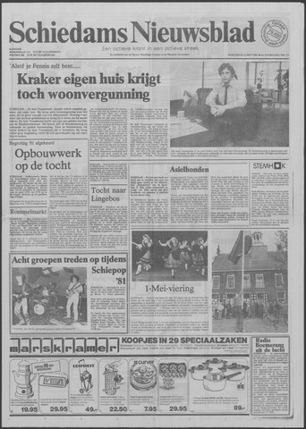Schiedams Nieuwsblad 1981-05-06
