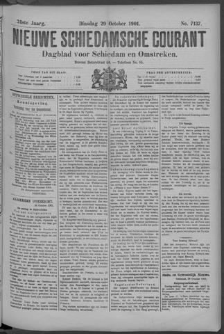 Nieuwe Schiedamsche Courant 1901-10-29