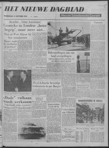 Nieuwe Schiedamsche Courant 1961-10-11