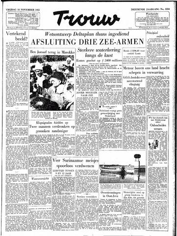 Trouw / De Rotterdammer 1955-11-18