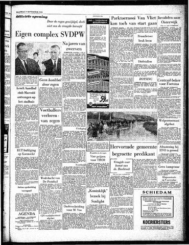 Rotterdamsch Parool / De Schiedammer 1963-09-02