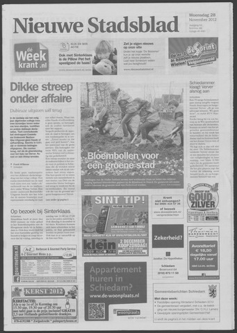 Het Nieuwe Stadsblad 2012-11-28