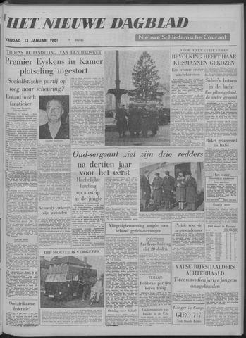 Nieuwe Schiedamsche Courant 1961-01-13