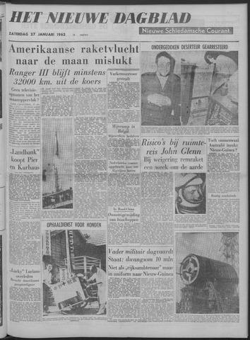 Nieuwe Schiedamsche Courant 1962-01-27