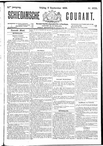 Schiedamsche Courant 1898-09-09