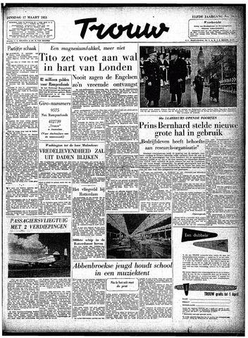 Trouw / De Rotterdammer 1953-03-17