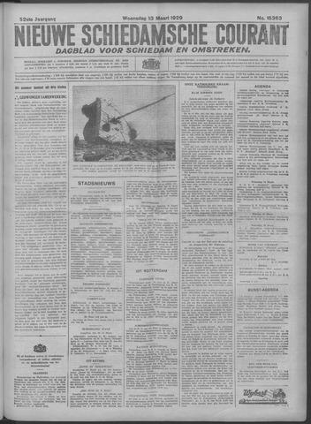Nieuwe Schiedamsche Courant 1929-03-13